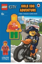Купити - Книжки - LEGO City: Gold Egg Adventure Activity Book with Minifigure