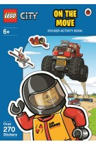 Купити - Книжки - LEGO City: on the Move Sticker Activity Book