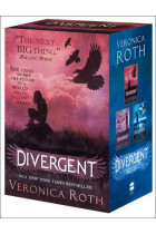 Купити - Книжки - Divergent Series Boxed Set (Books 1-3)