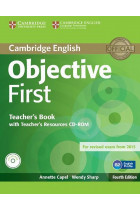 Купить - Книги - Objective First. Teachers Book with Teachers Resources CD-ROM