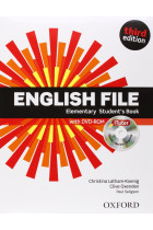 Купить - Книги - English File. Elementary. Student's Book with Itutor