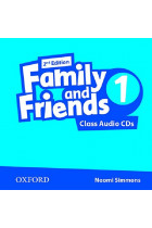 Купить - Книги - Family & Friends: 1 Class Audio CD (2)