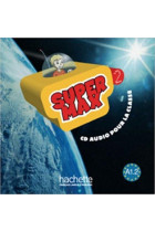 Купить - Книги - Super Max. Niveau 2. CD audio classe