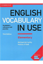 Купить - Книги - English Vocabulary in Use Elementary Book with Answers. Vocabulary Reference and Practice