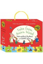 Купить - Книги - Tales from Acorn Wood. Hide-and-Seek Pig Book and Jigsaw Set