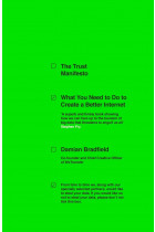 Купить - Книги - The Trust Manifesto: What you Need to do to Create a Better Internet