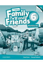 Купить - Книги - Family & Friends: 6 Workbook & Online Practice Pack