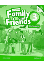 Купить - Книги - Family & Friends: 3 Workbook & Online Practice Pack