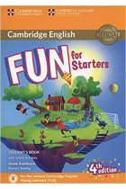Купить - Книги - Fun for Starters Student's Book with Online Activities with Audio