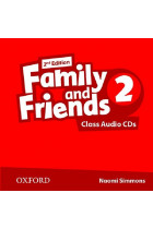 Купить - Книги - Family & Friends: 2 Class Audio CD (2)