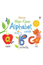 Купить - Книги - Wipe-Clean: Alphabet Cards