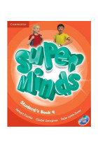 Купить - Книги - Super Minds 4 Students Book including Lessons Plus for Ukraine (+ DVD-ROM)
