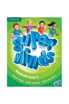 Купить - Книги - Super Minds 2 Students Book including Lessons Plus for Ukraine (+ DVD-ROM)