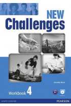 Купить - Книги - New Challenges 4 Workbook (+ CD-ROM)