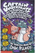 Купити - Книжки - Captain Underpants and the Invasion of the Incredibly Naughty Cafeteria Ladies from Outer Space