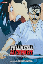 Купить - Книги - Fullmetal Alchemist. 3-in-1 Edition. Volume 8