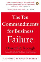Купити - Книжки - The Ten Commandments for Business Failure