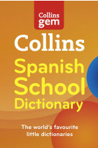 Купить - Книги - Collins GEM Spanish School Dictionary
