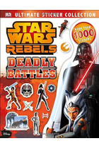 Купить - Книги - Star Wars Rebels Ultimate Sticker Collection: Deadly Battles