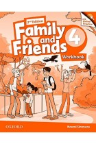 Купить - Книги - Family & Friends: 4 Workbook & Online Practice Pack