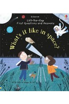 Lift-the-Flap First Questions & Answers. What's it like in Space?