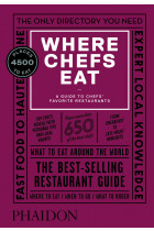 Купить - Книги - Where Chefs Eat. A Guide to Chefs' Favorite Restaurants