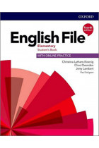 Купить - Книги - English File: Elementary: Students Book and Student Resource Centre Pack