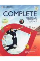 Купити - Книжки - Complete Preliminary for Schools Student's Book without Answers with Online Practice and Workbook without Answers with Audio Download. For the Revised Exam from 2020