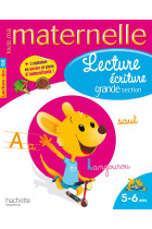 Купить - Книги - Lecture - ecriture Grande Section 5 - 6 ans
