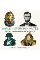 Купить - Книги - World History in Minutes: 200 Key Concepts Explained in an Instant