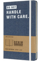 Купити - Блокноти - Блокнот Moleskine Denim Handle With Care (LCDNQP060D)