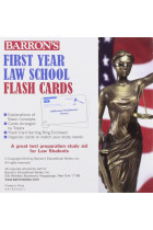 Купить - Книги - Barron's First Year Law School Flash Cards : 350 Cards with Questions & Answers