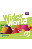 Купить - Книги - Wider World 2 (A2) Class Audio CDs