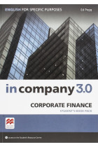 In Company 3.0. English for Specific Purposes Corporate Finance. Student's Book