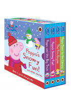 Купити - Книжки - Peppa's Snowy Fun and other stories. Box Set (4-board book slipcase)