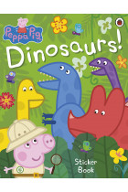 Купити - Книжки - Peppa Pig. Dinosaurs! Sticker Book