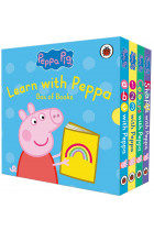 Купити - Книжки - Peppa Pig: Learn with Peppa Pig. Box of Books