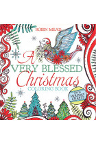 Купити - Книжки - A Very Blessed Christmas Coloring Book
