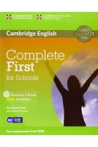 Купить - Книги - Complete First for Schools Students Book with answers (+ CD-ROM)