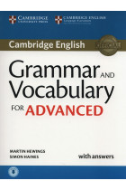 Купить - Книги - Grammar and Vocabulary for Advanced Book with Answers