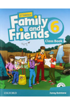 Купить - Книги - Family and Friends 2nd Edition 6 Class Book (+ Multi-ROM)