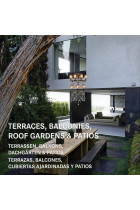 Купить - Книги - Terraces, Balconies, Roof Gardens