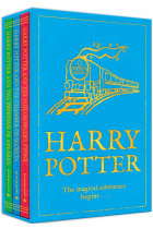 Harry Potter. The magical adventure begins. Three book set, includes Vols 1-3: Philosopher's Stone, Chamber of Secrets and Prisoner of Azkaban