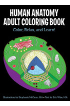 Купити - Книжки - Human Anatomy Adult Coloring Book