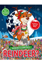 Купити - Книжки - Where's Santa's Reindeer? A Festive Search and Find Book