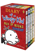 Купить - Книги - Diary of a Wimpy Kid. Box of Books (Books 1-4)