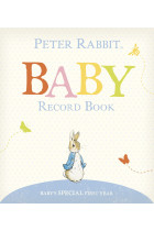 Купить - Книги - Peter Rabbit Baby Record Book