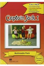 Купить - Книги - Captain Jack 1 Multimedia Pack