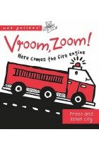 Купить - Книги - Vroom, Zoom! Here Comes the Fire Engine!: A Press & Listen Board Book