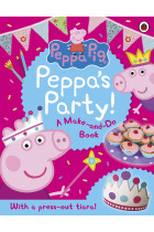 Купить - Книги - Peppa Pig. Peppa's Party. A Make-and-Do Book